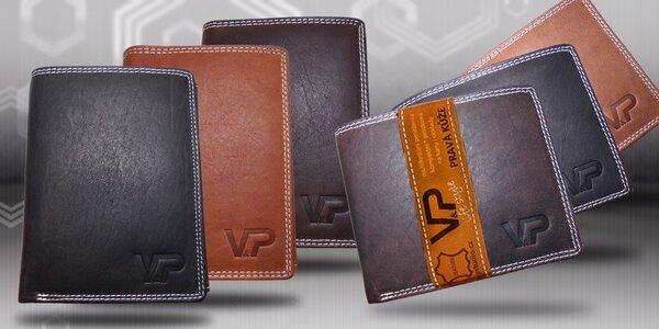 Pánské luxusní kožené peněženky Pablo