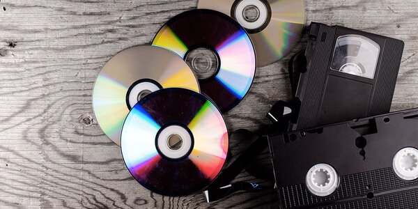 Převod VHS kazet na DVD v Plzni
