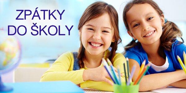 Ulehčete svým dětem návrat do školy s novou výbavou