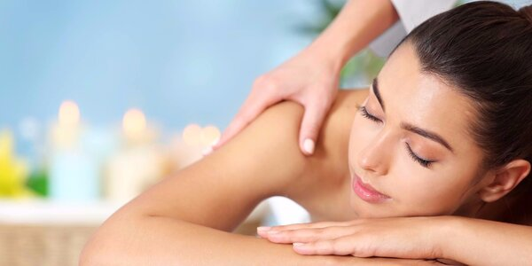 Uvolňující masáž zad a šíje v délce 60 minut