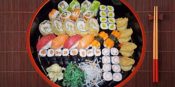 Lahodné sushi v Sushi Miomi