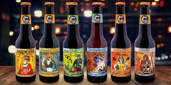 Dárek pro pivaře: 6 originálních mexických piv