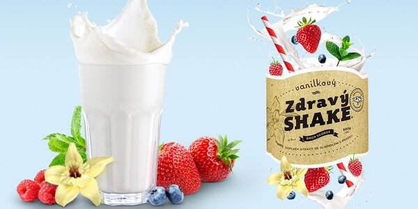 Zdravý Shake: připravte si chutný a výživný nápoj se spoustou vitamínů