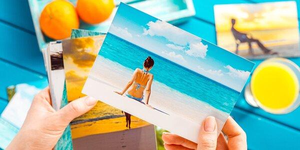 100 fotografií 9 x 13 cm nebo 10 x 15 cm v lesku