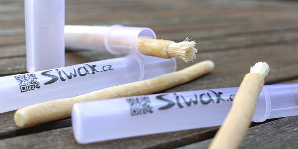 Přírodní kartáčky Siwak pro zuby jako perličky