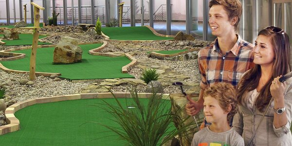 Adventure golf – zábava pro celou rodinu