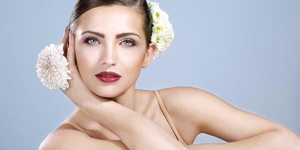 60minutové kompletní kosmetické ošetření pleti