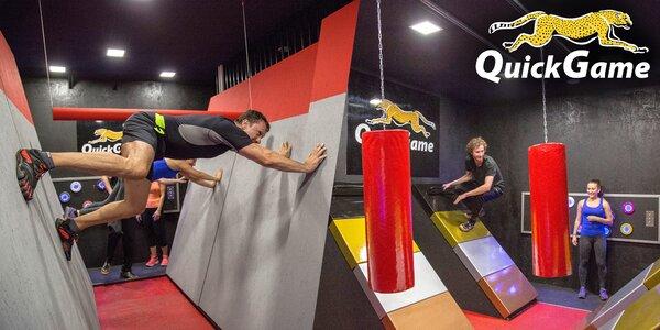 QuickGame: Týmová hra plná fyzických výzev