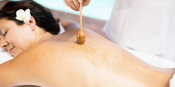 Medová detoxikační masáž v délce 60 minut