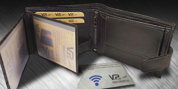 Stylové peněženky MaxiM a obal na karty