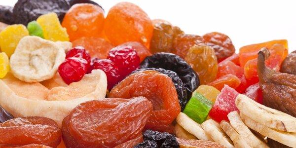 Chutné a zdravé balíčky sušeného ovoce