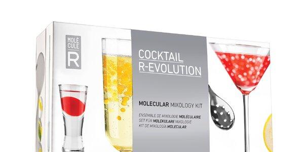 Domácí sety pro molekulární koktejly