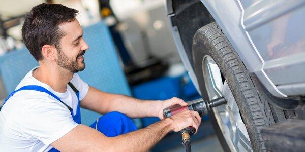 Přezutí pneumatik vč. čištění ráfků a vyvážení