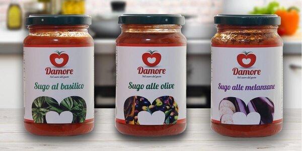 Exkluzivní italské omáčky bez konzervantů