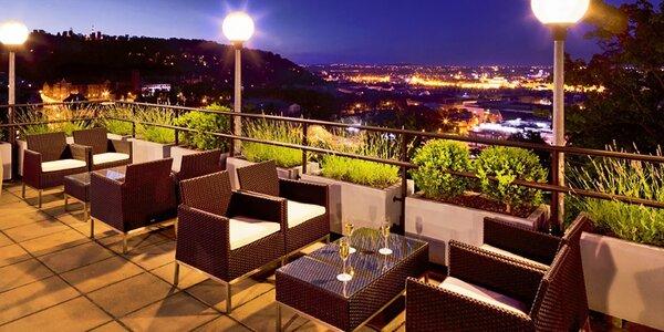 Luxus v centru Prahy v hotelu s vlastní lanovkou