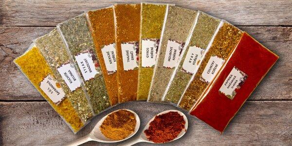 Dárková balení kvalitního koření bez glutamanu