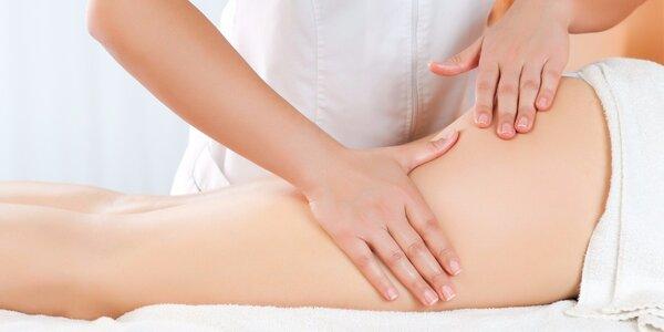 Ruční lymfatická masáž proti otokům a celulitidě