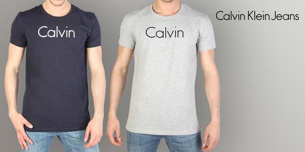 Ležérní pánské tričko Calvin Klein Jeans