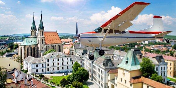 Vyhlídkový let letadlem