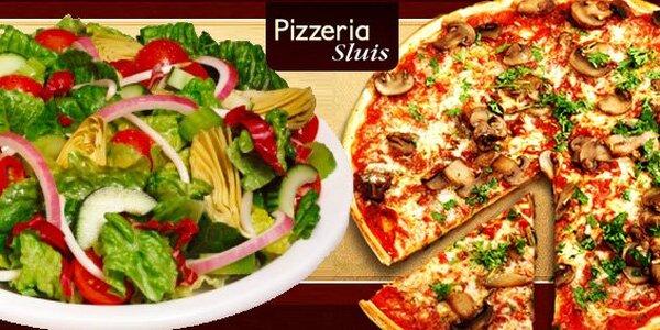 Jen 64 Kč za pizzu a salát dle výběru v Teplicích