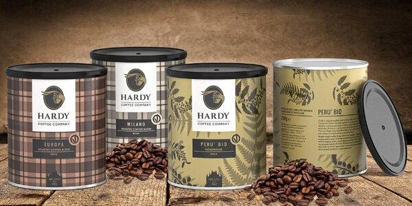 Pravá italská káva v dárkové plechovce