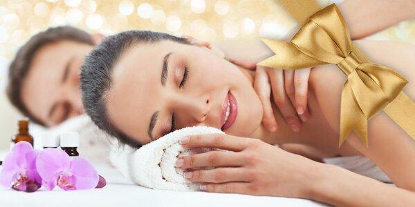 Teplá aroma oil masáž uvolní vaše zatuhlé svaly