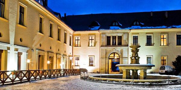 Pobyt na zámku Chateau Zbiroh vč. wellness