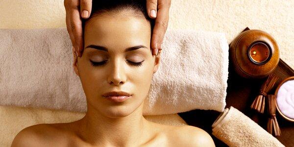 20minutová indická masáž hlavy