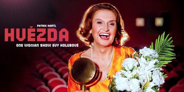 Vstupenka na komedii s Evou Holubovou (25. 10.)