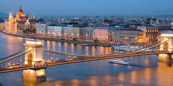Romantický pobyt v Budapešti se snídaněmi