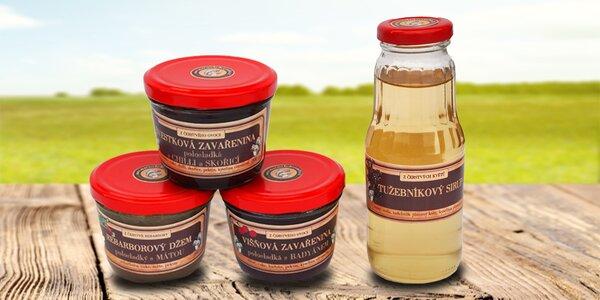Balíčky produktů z Marmeládového mlýna
