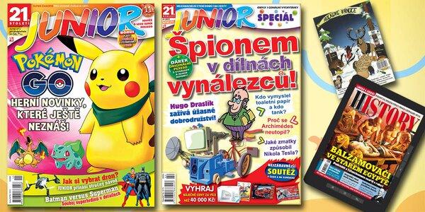 21. STOLETÍ JUNIOR - Časopis pro chytré děti