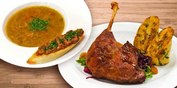 Vyladěné svatomartinské degustační menu