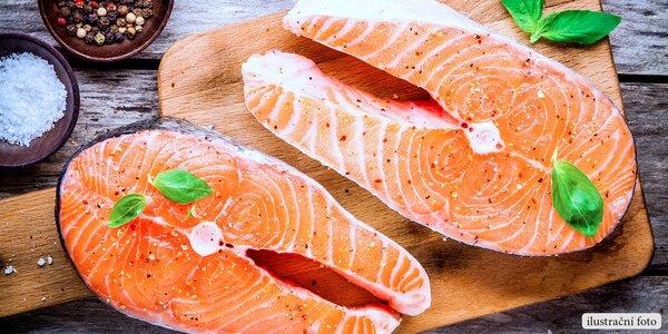 Steaky z divokého lososa keta ve 2kg balení