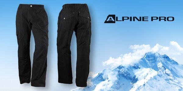 Pohodlné pánské outdoorové kalhoty Alpine Pro