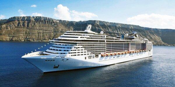 Plavba luxusní lodí z Janova do Barcelony
