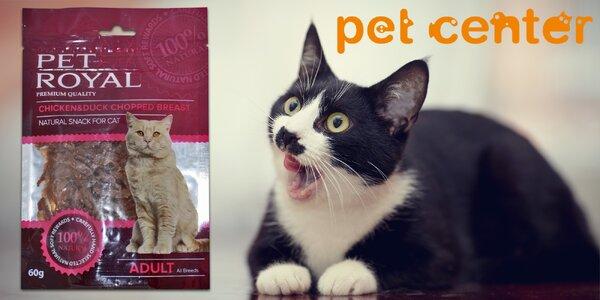 Přírodní masová pochoutka Pet Royal pro kočičky