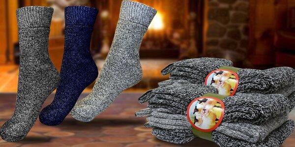 Ponožky z ovčí vlny pro muže i ženy