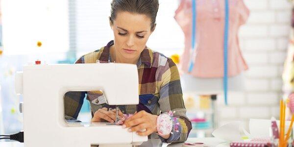 Praktické kurzy šití pro začátečníky i pokročilé