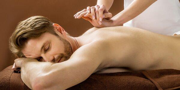 60minutová masáž dle výběru