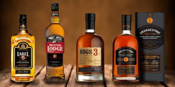 Skotská, irská whisky, bourbon či brandy