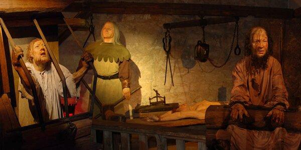 Přijďte se bát: Vstupenky do Musea Tortury