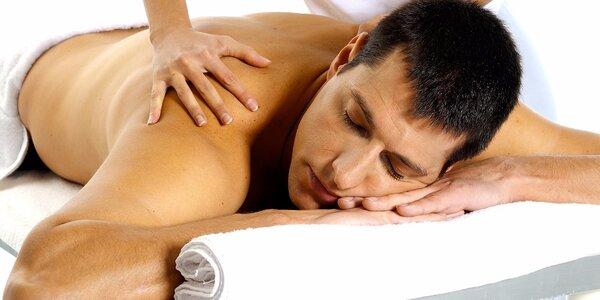 Terapeutická masáž proti bolesti zad Trigger Points