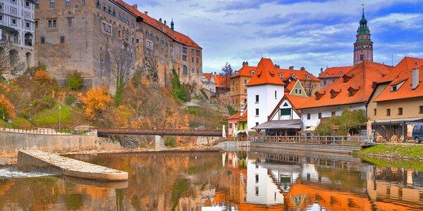 Romantický pobyt v centru Českého Krumlova