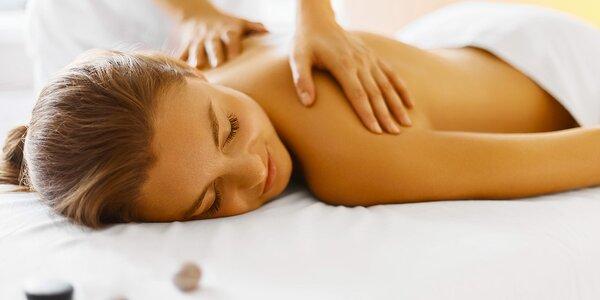 90 minut relaxace při masáži - na výběr 3 varianty