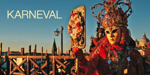 Karneval v Benátkách a chorvatské Rijece