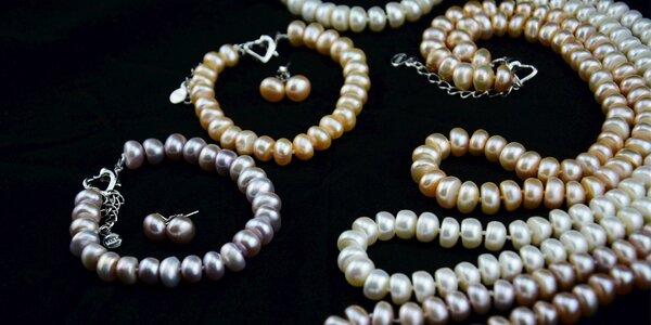 Perlový set: Šperky jako pro princeznu