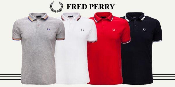 Legendární pánské polokošile Fred Perry