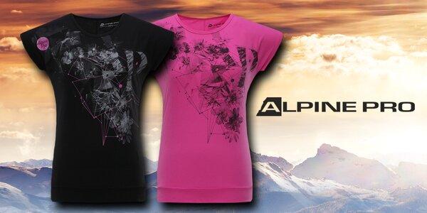Dámská funkční trička Alpine Pro