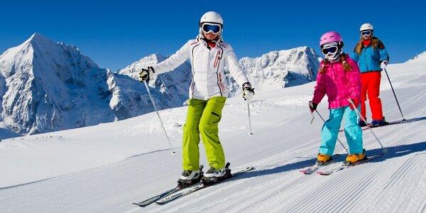 Celodenní lyžařský výcvik pro děti vč. dopravy